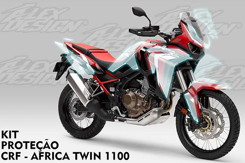 CRF Africa Twin 1100 kit proteção PPF