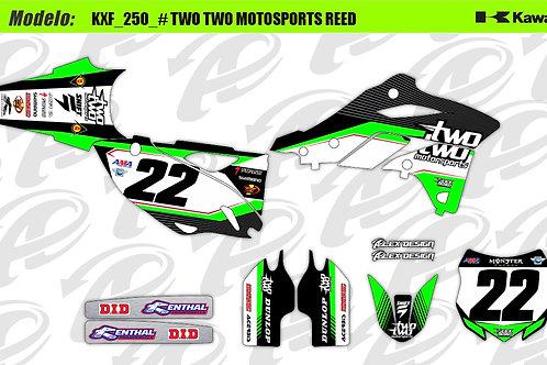 Kawasaki TwoTwo Motorsport reed