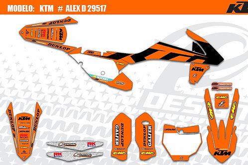 KTM 2017 Modelo: Alex D 29517