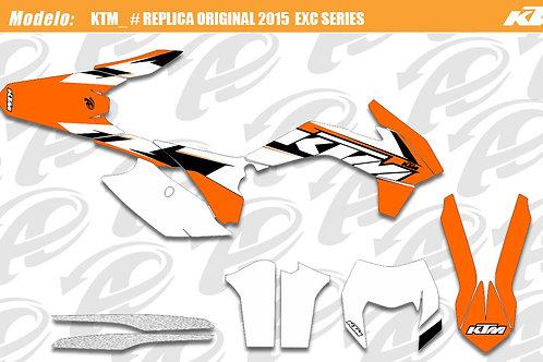 KTM EXC series replica original 2015