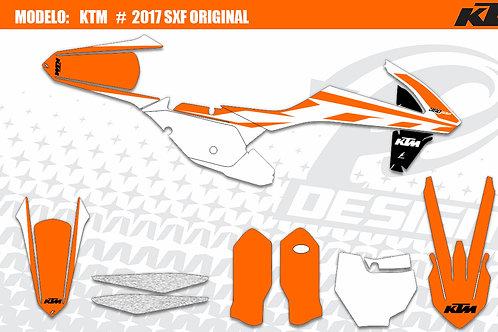 KTM 2017 Modelo: 2017 SXF original