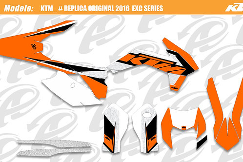 KTM EXC series replica original 2016