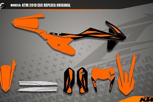 KTM Exc original replica 2019