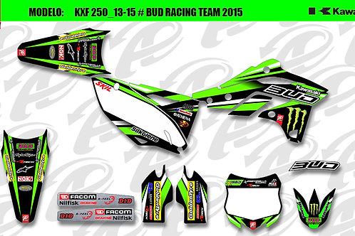 Kawasaki Bud Racing team 2015 replica