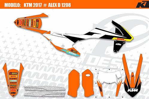 KTM Modelo: Alex D 1208