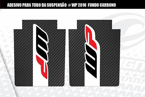 ADESIVO para tubo da suspensão  WP 2016  fundo carbono