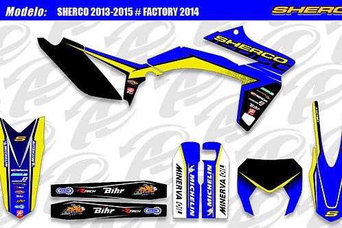 Sherco Factory 2014