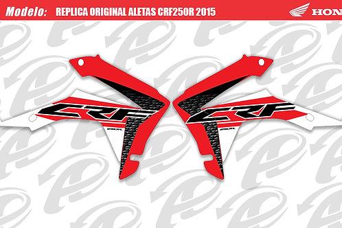Aleta replica original CRF250R 2015