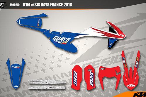 KTM Modelo: Six Days France 2018