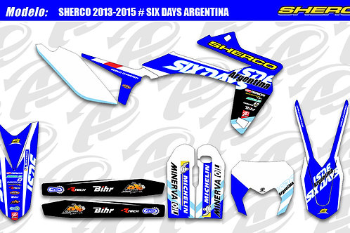 Sherco Six Days Argentina