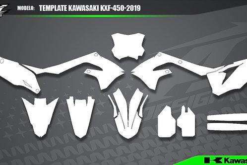 Template Kawasaki KXF-450-2019
