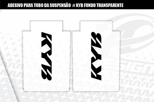 ADESIVO para tubo da suspensão KYB fundo transparente