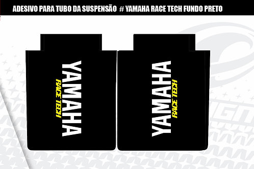 ADESIVO para tubo da suspensão  Yamaha Race Tech fundo preto