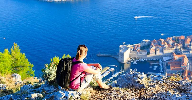 Yoga och vandra, Gradac Kroatien