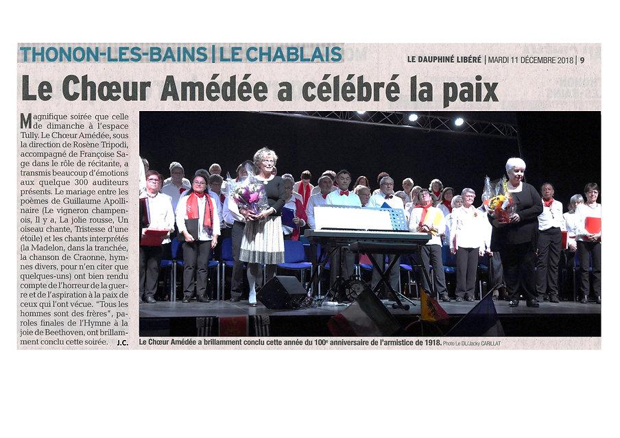 2018.12.11. Ch. Amédée. Article du Dauph