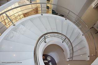 foto de escada pré moldada