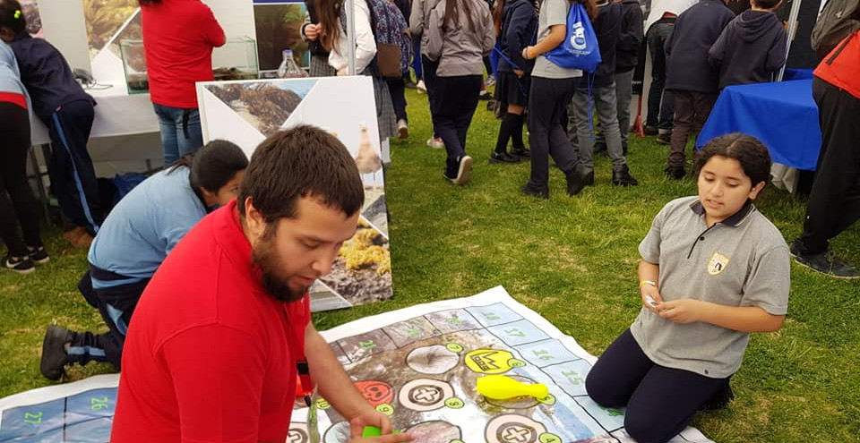 """Kolof"" educational activity at Explora 2017."
