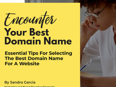 Encounter Your Best Domain Name
