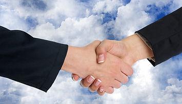 Clouds-Shaking-Hands-Cooperation-Handsha