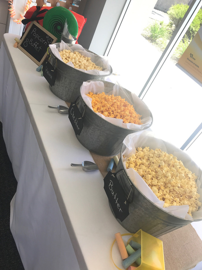 Popcorn Buffet for Sprint