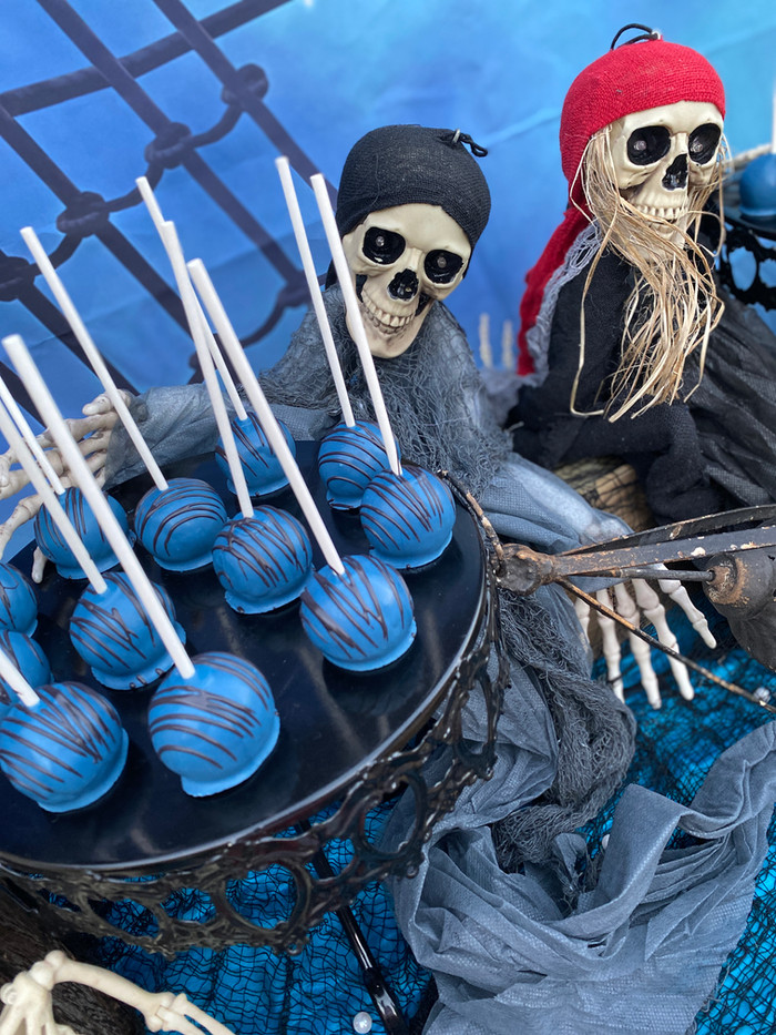 Shipwrecked Pirate Dessert and Candy Buf