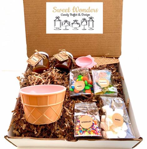 Ice Cream Sundae Gift Box - One Serving