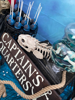 Shipwrecked Pirate Dessert and Candy Buffet