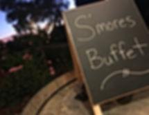 S'mores Bar, S'more Buffet