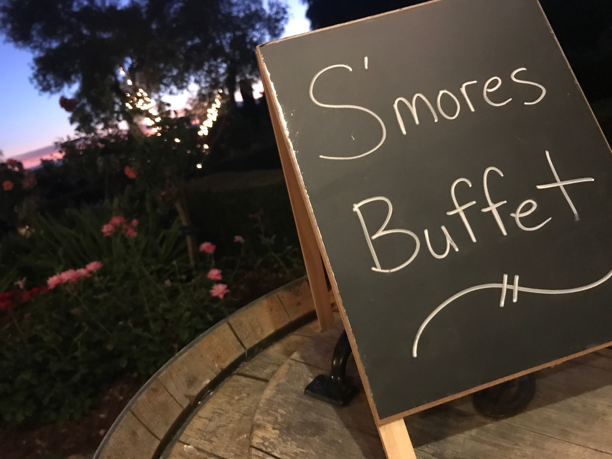 S'mores Buffet for LinkedIn