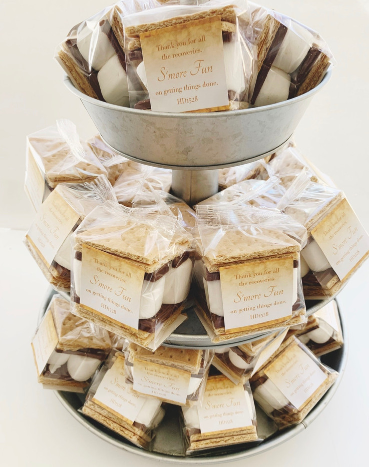 S'more Favors for Home Depot