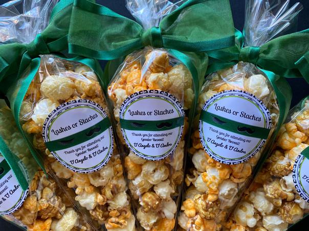 Gender Reveal Popcorn Favors