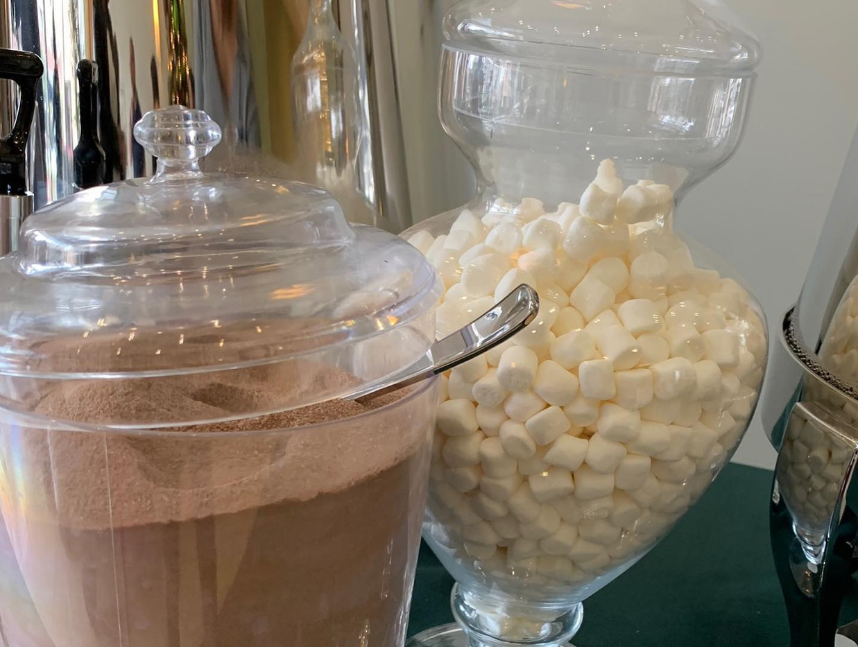 Hot Chocolate Buffet for 750 People