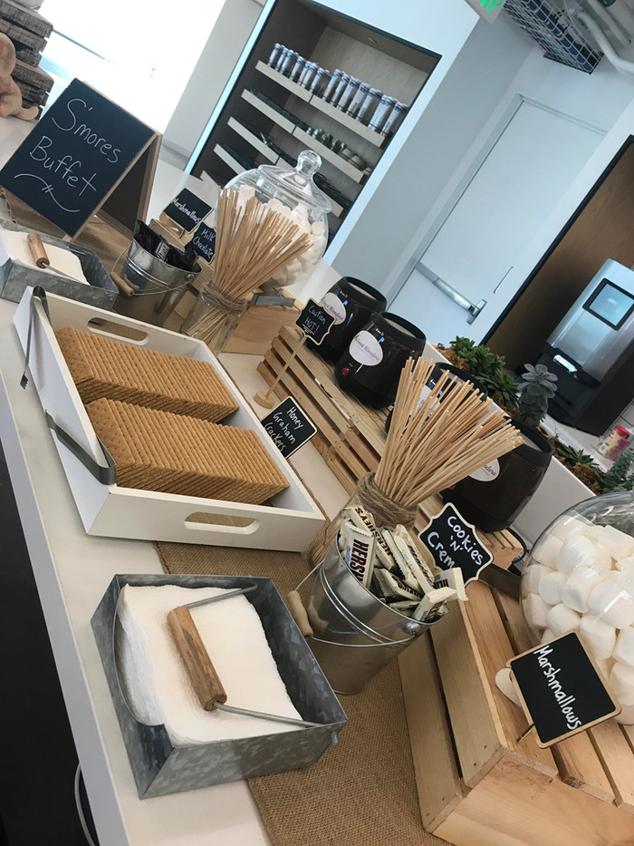 S'mores Buffet for Instagram