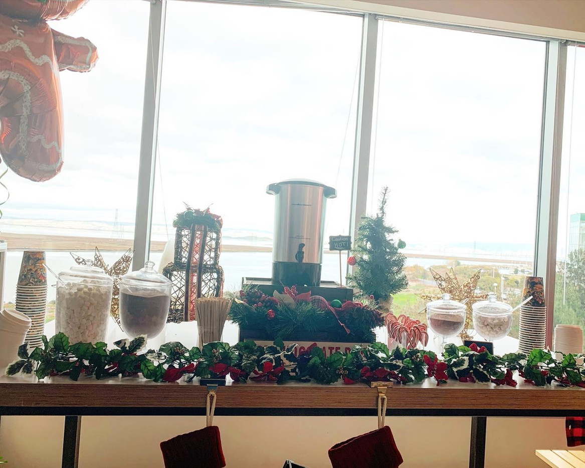 Holiday Hot Chocolate Buffet for EAT Clu