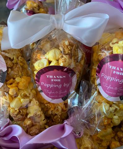 Bridal Shower Popcorn Favors
