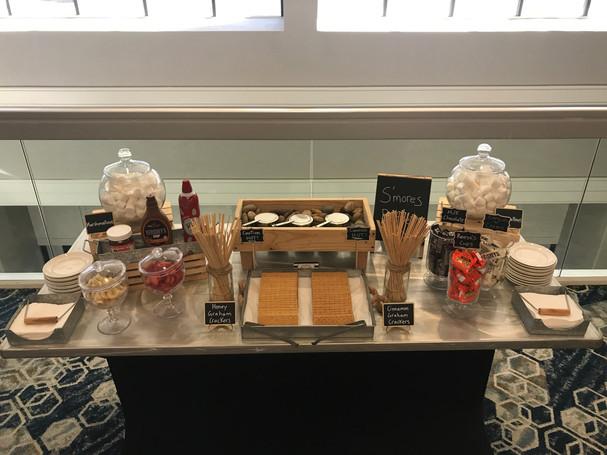 Fresh Gourmet S'mores Buffet
