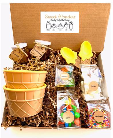 Ice Cream Sundae Gift Box - Two Servings