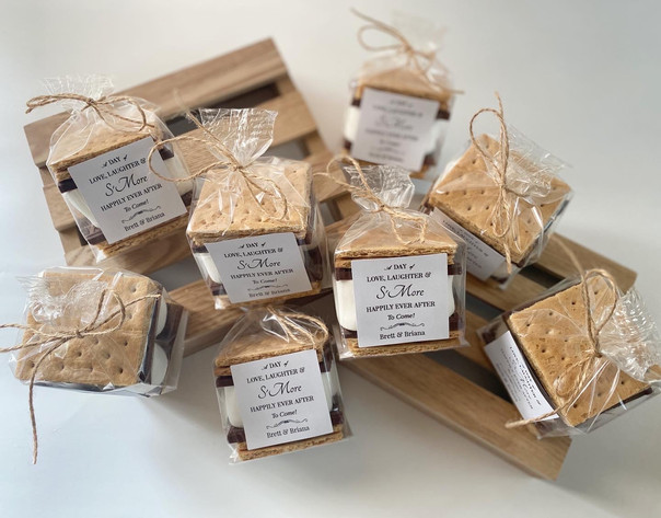 Wedding S'more Favors