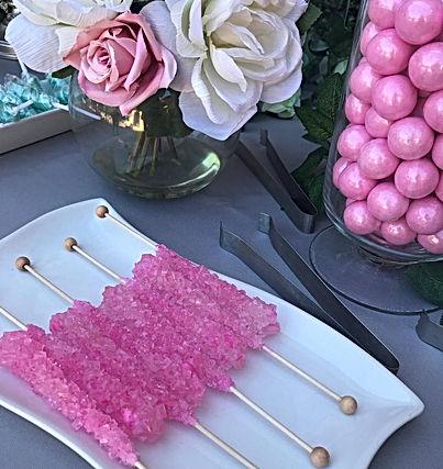 Garden Themed Candy Buffet