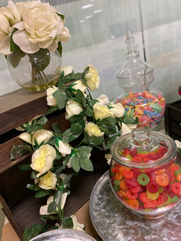 Rustic Candy Buffet