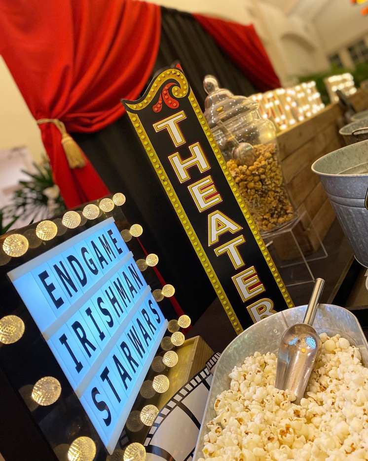 Popcorn Buffet for Lucasfilm