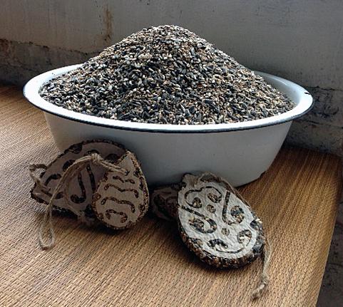 Bird Seed Cookies (Tree Ornaments)