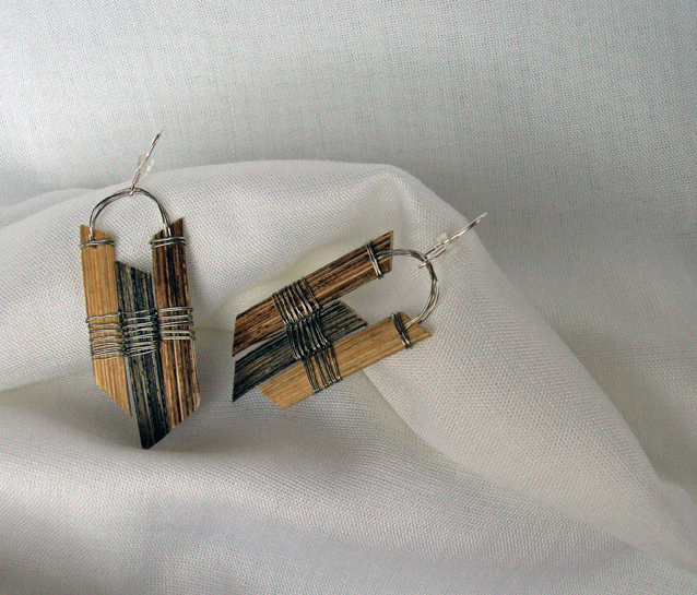 Anchor, Reed Earrings