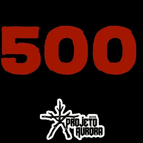 500 PALAVRINHAS