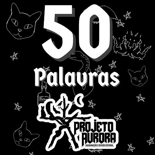 50 PALAVRINHAS