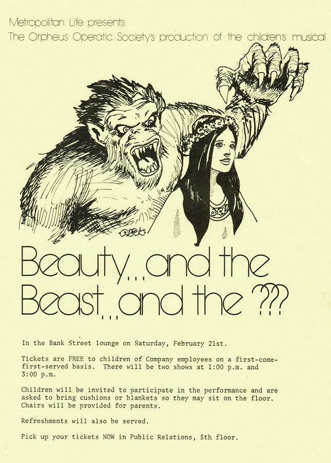 Beauty and the Beast and the ???