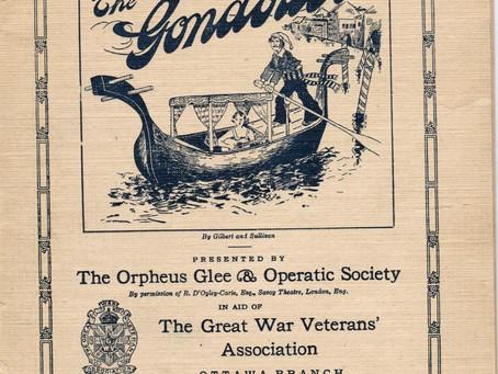 Theatre in 1919