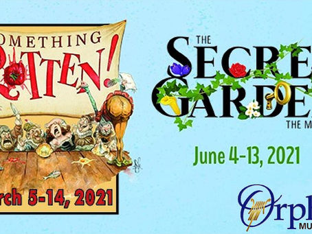 Cancellation of Something Rotten and The Secret Garden