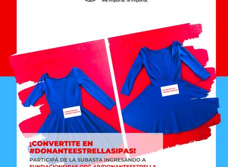 Ya abrió la 1° Subasta Solidaria ¡Donante Estrella SIPAS!