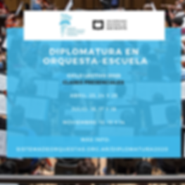 Diplomatura en Orqueta-Escuela 2020